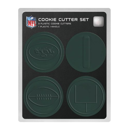 NFL New York Jets Officially Licensed Set of Cookie Cutters