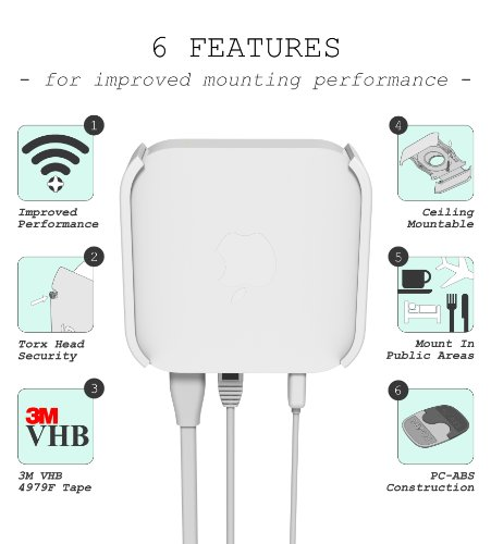 Airlock Wall Ceiling Mount For Apple Airport Express