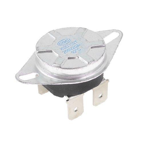 KSD302T 92 Celsius Normal Fechado Controle de Temperatura Termostato Mudar