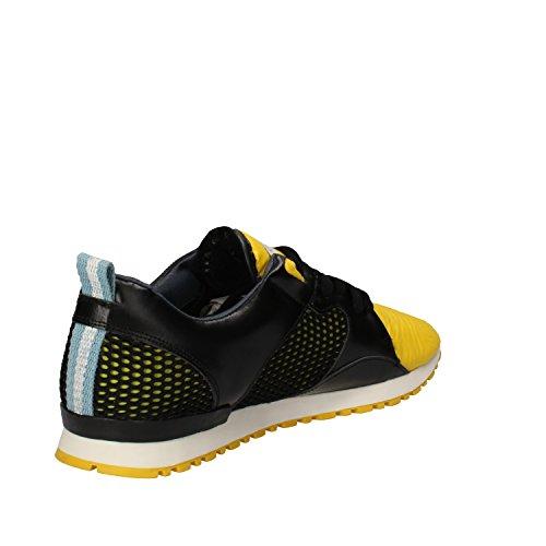 ... D.A.T.E. , Herren Sneaker Schwarz/Gelb ...
