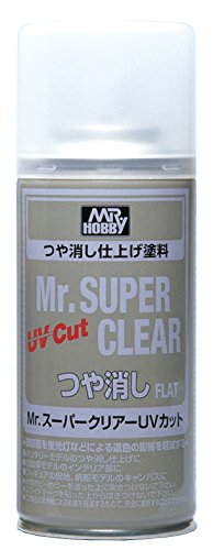 Mr. Super Clear UV Cut Flat Spray (Best Flat Clear Coat)