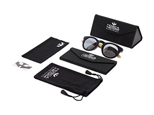 MIX Gafas modelo NEGRA Polarized de MOSCA UNISEX TURTLE Silver Woodsunglasses sol wrqIwXnZ
