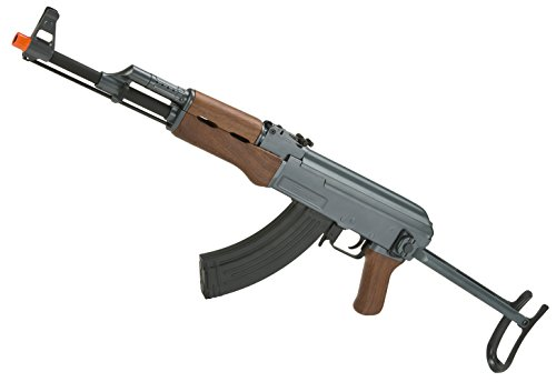 Evike CYMA CM028S AK47S Under-Folding Airsoft AK47 AEG Rifle - Simulated Wood Furniture - (23923)