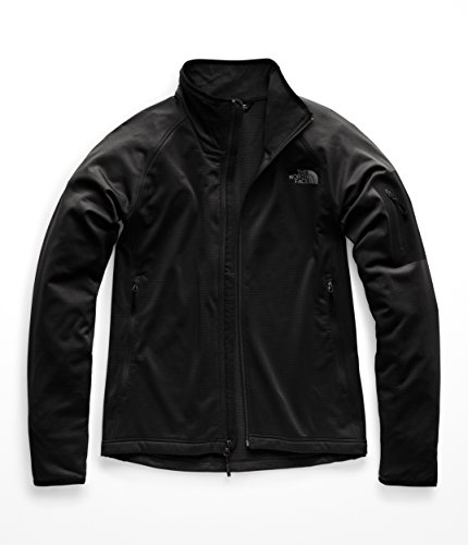 - The North Face NF0A2VE1 Men's Borod Full Zip, TNF Black/TNF Black - L