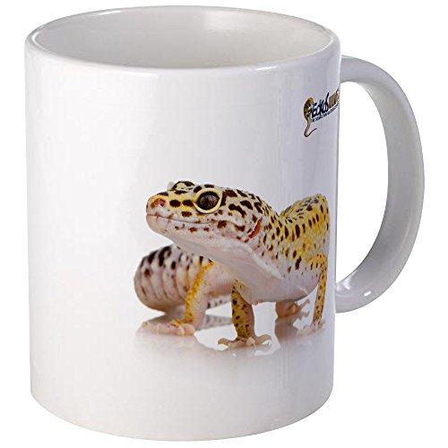 CafePress - Leopard Gecko & GU Logo Mug - Unique Coffee Mug, Coffee - Leopard Logo