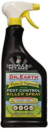 Dr. Earth 8000 Ready to Use Pest Control Killer Spray, 24-Ounce (Natural Control Pest)