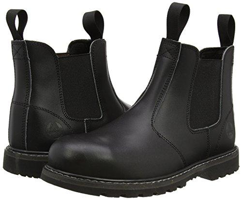 Fs5 Sécurité Eur Steel Amblers Chaussures De 43 noir Enfiler À Marchand Unisexe vxSqHw5H0