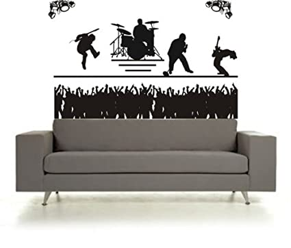 Rock Band Wall Stickers