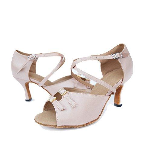 Diamante Las Color 5cm Del El Inferior De Adulto Zapatos Alto 's América Caliente La Baile 8 Mujeres Tacón Imagen rSqU6g7r