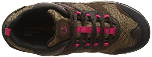 Merrell Kimsey Gtx - Zapatos de Low Rise Senderismo Mujer Marrón - marrón oscuro