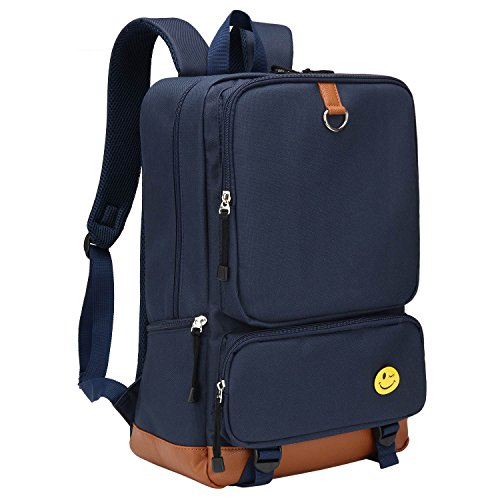 Bagerly Classic Laptop Backpacks Casual Daypacks Bookbags Up To 15.6 Inch with by Bagerly