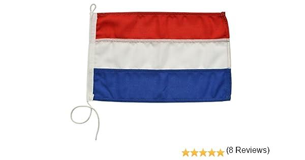 Bandera de cortesía pabellón civil Países Bajos Navyline en 2 tamaños: Amazon.es: Deportes y aire libre