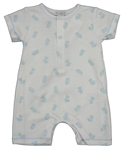 Kissy Kissy Baby-Boys Infant Tiny Teddy Print Short Playsuit