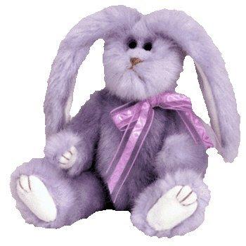 Ty Attic Treasures Azalea the Lilac Purple Bunny Rabbit 8