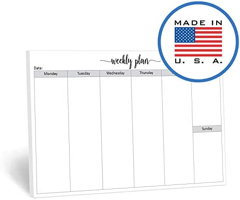 321Done Notepad Horizontal Landscape Planning product image