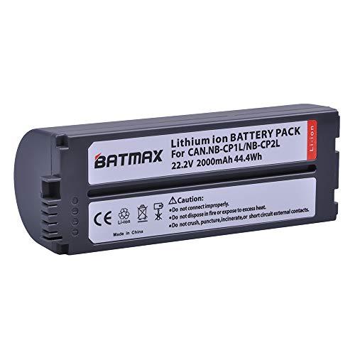 Batmax 1Pc 2000mAh NB-CP2L,NB CP2L NB-CP1L Battery for Canon Photo Printers SELPHY CP1300 CP1200 CP100,CP200,CP220,CP300,CP330,CP400,CP510,CP600,CP710,CP730,CP770,CP780,CP790,CP800