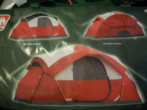 Coleman Cimmaron 8-Person Dome Tent, 14' x 8'