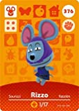 Rizzo- Nintendo Animal Crossing Happy Home Designer Series 4 Amiibo Card -376
