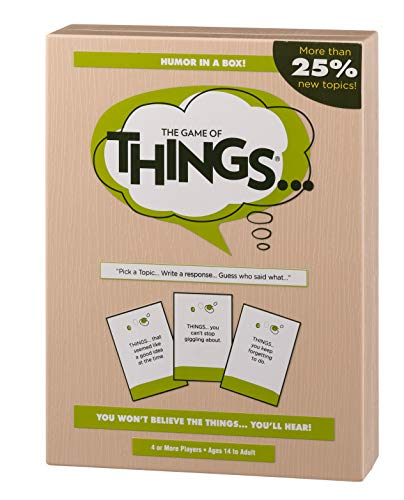 The Game of Things... New Edition with More than 25% New Topics (Best New Family Board Games)