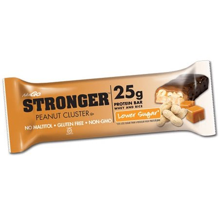 Stronger Peanut Cluster Protein 2.82 Ounces (Case of 12)