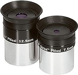 7.5mm 12.5mm Set Sirius Plossl Eyepieces
