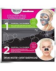 Bioré 2-Step Charcoal Pore Kit, 2 ct