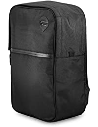 Urban Backpack Black - Smell Proof - Water Resistant - NOW WITH COMBO LOCK