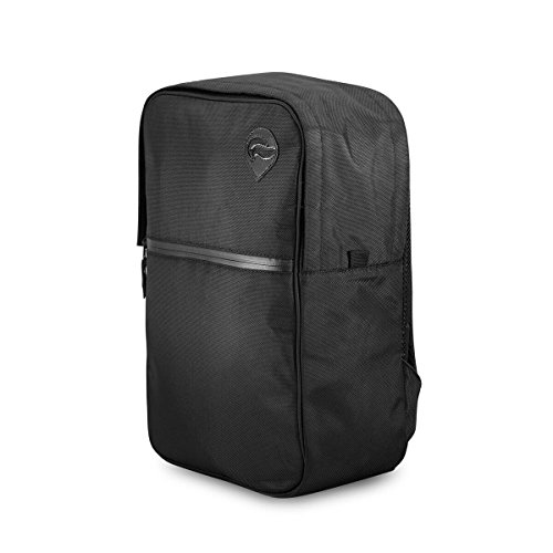Vatra Skunk Urban Backpack Black - Smell Proof - Water Proof - NOW WITH COMBO LOCK 12' Carbon Filter
