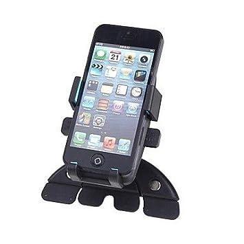 YF CD tarjetero soporte Universal de coche para iPhone Teléfono móvil GPS 360 Degree giratorio: Amazon.es: Electrónica