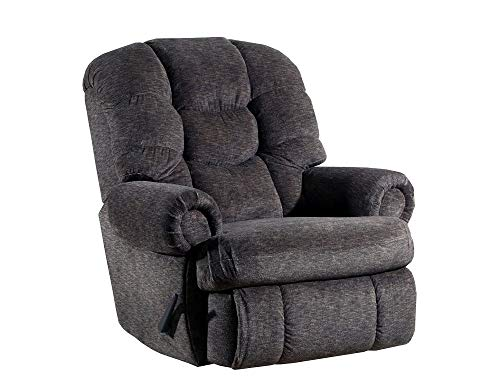 (Lane Stallion Big Man Comfort King Wallsaver Recliner in Gladiator Cafe. Made for The Big Guy Or Gal. Rated for Up to 500 Lbs. Extended Length. 79 Inches. Seat Width. 25 Inches. 4501)