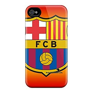 Luoxunmobile333 SEO20605IycT Cases Covers Skin For Case Iphone 4/4S Cover (fc Barcelona)