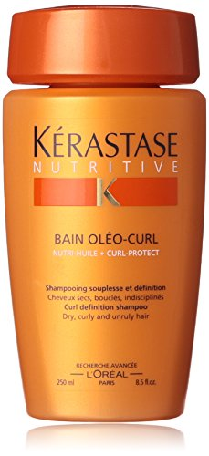 Loreal Kerastase Nutritive Bain Oleo-Curl Curl Definition Shampoo, 8.5-Ounce Bottle