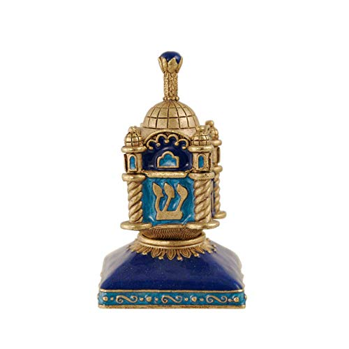 Quest Collection Cobalt Blue Synagogue Dreidel
