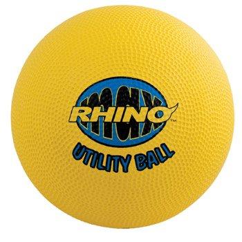 Champion Playground Ball (Champion Sports Rhino Utility Playground Ball (Yellow, 10-Inch))