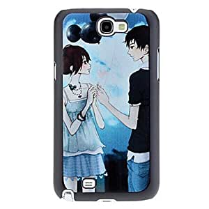 Cute Couple Pattern Hard Case for Samsung Galaxy Note 2 N7100