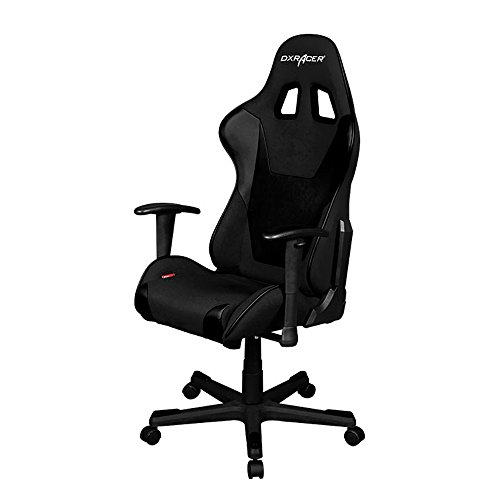 (DXRacer Formula Series DOH/FD101/N Newedge Edition Office Chair Gaming Chair Ergonomic Computer Chair eSports Desk Chair Executive Chair Furniture With Pillows (Black))