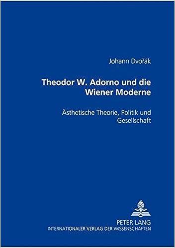 Adorno ästhetische theorie