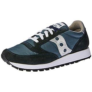 Saucony Originals Men's Jazz Sneaker,Navy/Silver,11.5 M