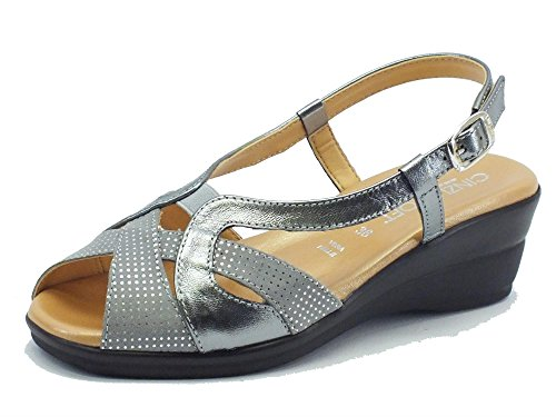 Hishoes - Sandalias para hombre, color amarillo, talla 41 EU / China Size 42