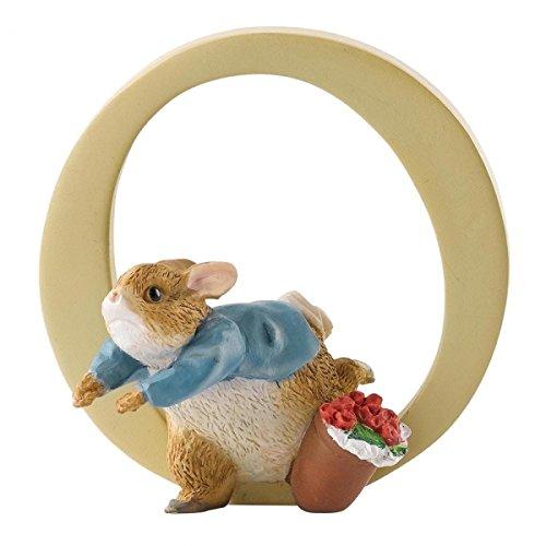 Beatrix Potter Alphabet Letter O Peter Rabbit Figurine A5007