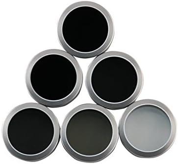 ターセルIncニュートラル密度フィルターfor DJI Phantom 4Pro Obsidianレンズ、Phantom 4ProアクセサリーNDフィルタセット6パック(MC UV CPL nd4nd8nd16、nd32)