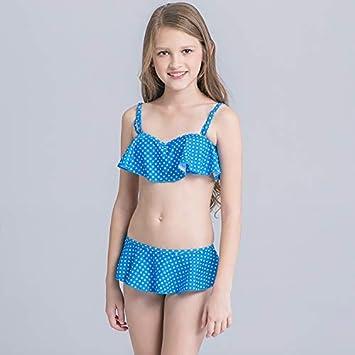 GUOZI Bikini Dot Traje de baño para niñas Traje de baño para ...