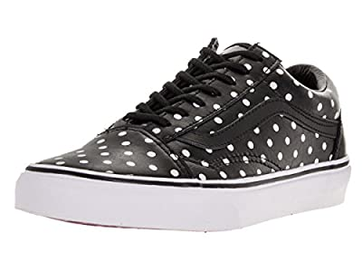 Vans Unisex Old Skool (Leather Polka Dots) Skate Shoe