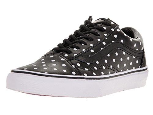 Vans Unisex Old Skool (Leather Polka Dots) Black Skate Shoe 7 Men US / 8.5 Women US V3Z6HUJ