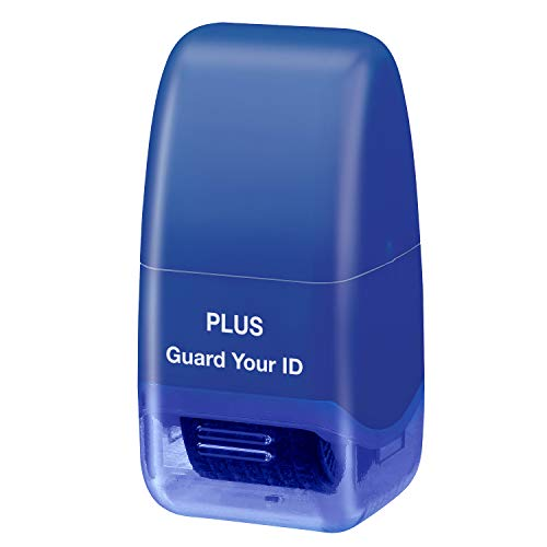 Plus Guard Your ID Mini Roller Stamp, Blue