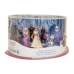 Disney Collection Frozen 2 Deluxe Figurine Playset – 8 Pieces