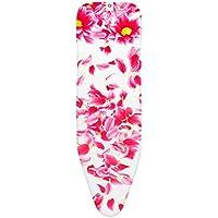 Brabantia Pink Santini Ironing Board Cover with 4 mm Foam, L 124 x W 38 cm, Size B