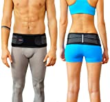 Sacroiliac Joint Brace SI Belt to Relieve Leg/Sciatica Nerve Pain, Lower Back Pain and Lower Spine and Hips Pain |...