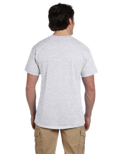 Hanes Adult ComfortBlend EcoSmart T-Shirt, Ash, Small, (Pack of 3)