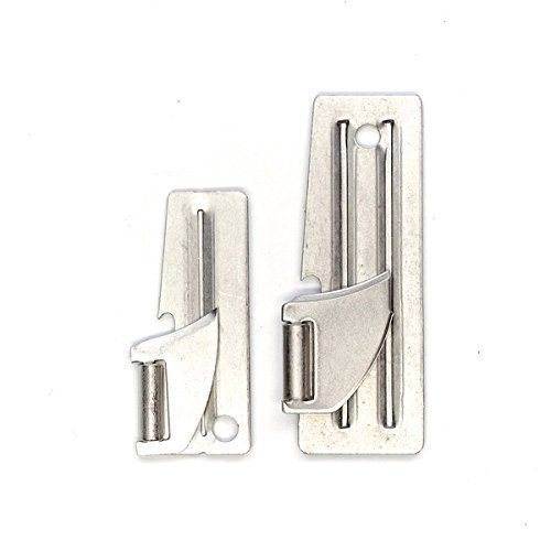 U.S. MADE P-51 & P-38 Can Opener 20 Pack- 10 of Each USGI Military Issue ()